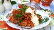 Фото рецепта Капустные котлеты в томатном соусе