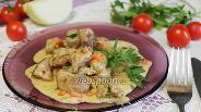 Фото рецепта Свинина в сметанном соусе