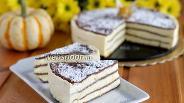 Фото рецепта Манговый торт