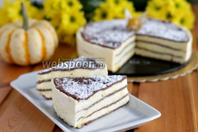 Фото Манговый торт