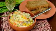 Фото рецепта Капустный салат «Валенсия»