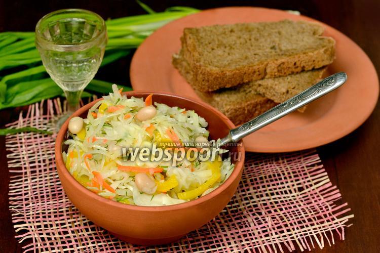 Фото Капустный салат «Валенсия»