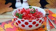 Фото рецепта Салат из капусты с лимонно-медовой заправкой