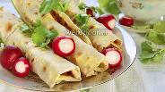 Фото рецепта Домашний лаваш с сочной мясной начинкой