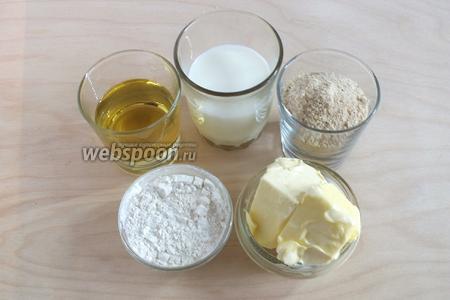Также понадобится молоко, панировочные сухари, сливочное масло, пшеничная мука и растительное масло для жарки.