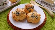 Фото рецепта Сырные булочки с маслинами