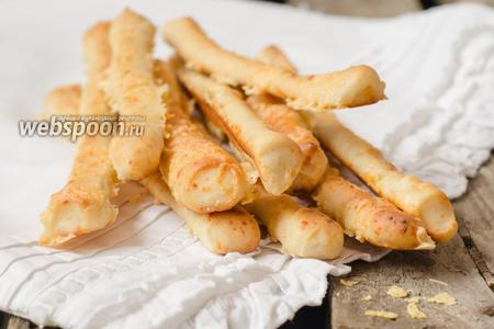 Гриссини с сыром