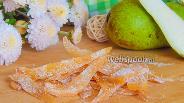 Фото рецепта Цукаты из груши