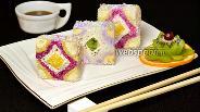Фото рецепта Десертные футомаки «Мозаика»