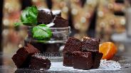 Фото рецепта Мандариновая помадка с горьким шоколадом