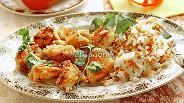 Фото рецепта Маринованные куриные наггетсы в хрустящей панировке