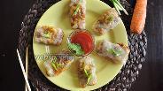 Фото рецепта Вьетнамские блинчики с курицей