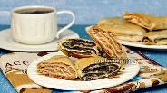 Фото рецепта Треугольники из лаваша с маковой и ореховой начинкой