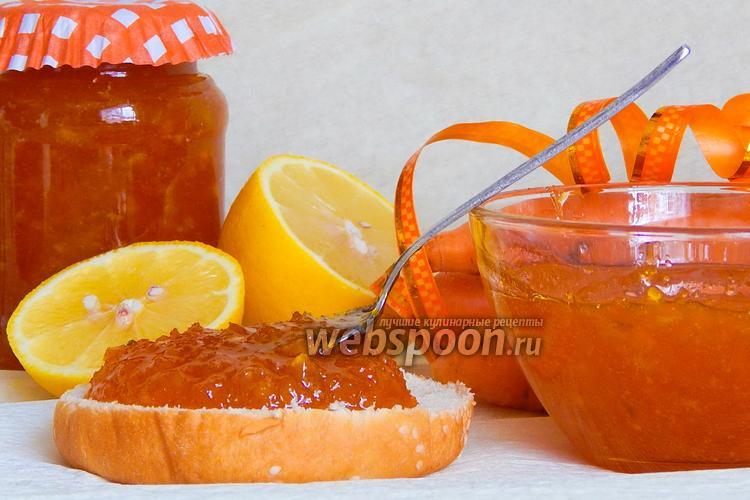 Фото Морковное варенье с лимоном
