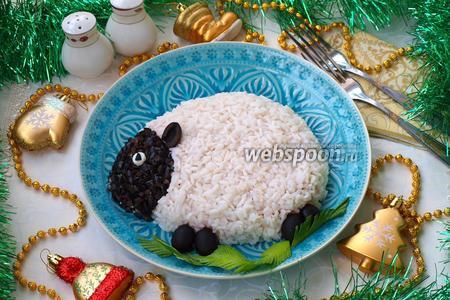 Слоёный салат «Овечка»