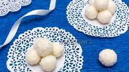 Фото рецепта Творожно-кокосовые конфеты