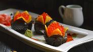 Фото рецепта Дзакуро-дзуси (суши-гранат)