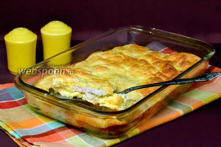 Пикша в сырном суфле