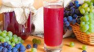 Фото рецепта Виноградный сок на зиму