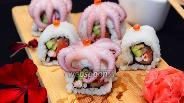 Фото рецепта Ролл с осьминогом