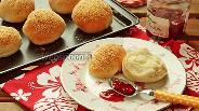 Фото рецепта Хлебные булочки с присыпкой
