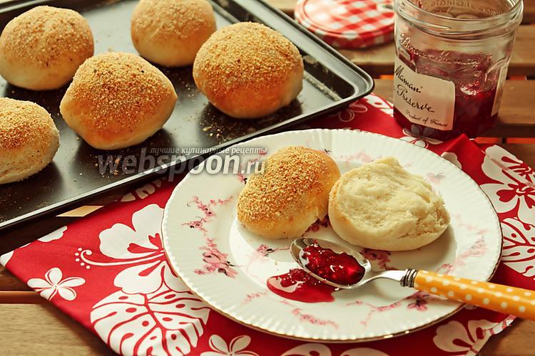 Фото Хлебные булочки с присыпкой