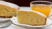 Фото рецепта Апельсиново-ванильный пирог