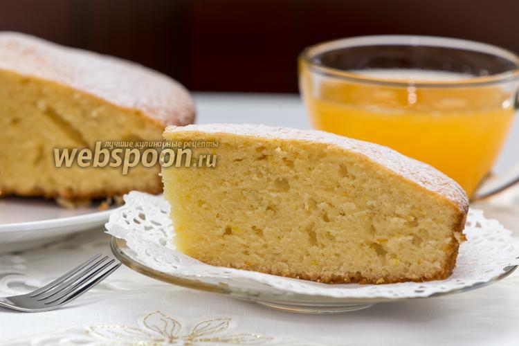 Фото Апельсиново-ванильный пирог