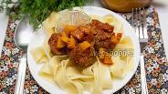 Фото рецепта Тефтели с тыквой в томатном соусе