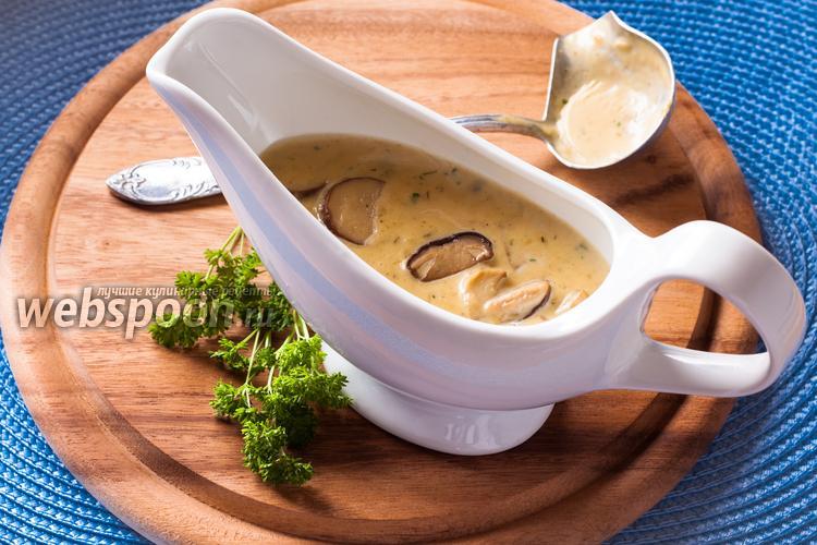 Фото Грибы в сливочном соусе