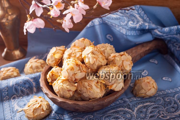 Фото Миндальное печенье из марципана