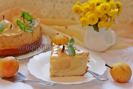 Пирог с грушей от Джулии Чайлд