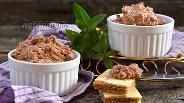 Фото рецепта Вафельный крем с шоколадной пастой