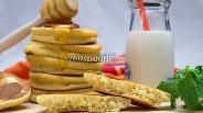 Фото рецепта Кукурузные панкейки