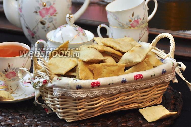 Фото Галетное печенье с корицей