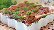 Фото рецепта Митболы с овощами