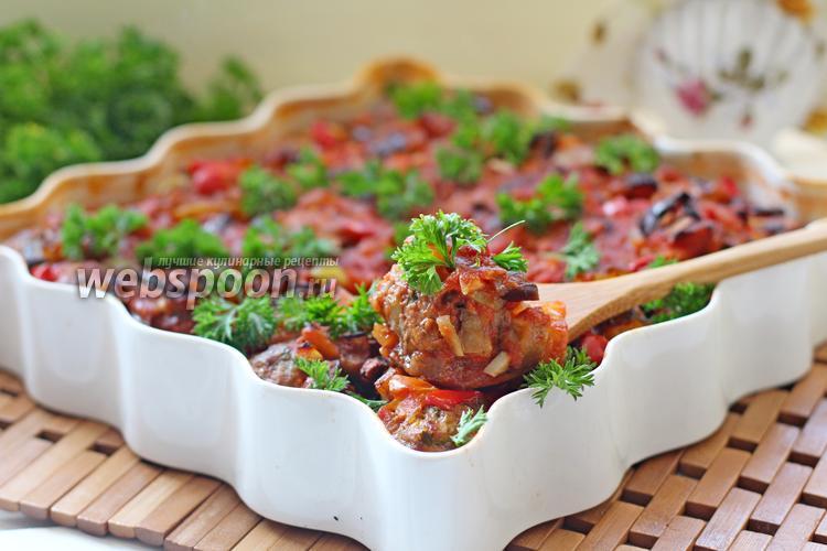 Фото Митболы с овощами