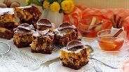 Фото рецепта Брауни с тыквой и орехами