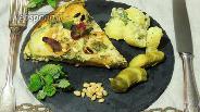 Фото рецепта Тортилья из цукини и мяты