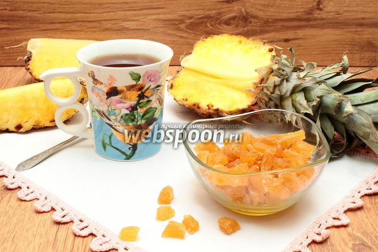 Фото Цукаты из ананаса