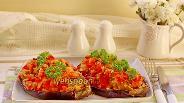 Фото рецепта Баклажаны фаршированные овощами и булгуром