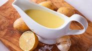 Фото рецепта Картофельный соус с чесноком и лимоном