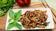 Фото рецепта Салат из баклажанов «Кадича»