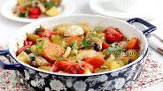 Фото рецепта Запечённые в духовке овощи