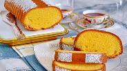 Фото рецепта «Амор полента» — кекс на кукурузной муке