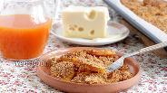 Фото рецепта Тыква с хлебными крошками и сыром