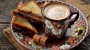 Фото рецепта Пикантный кофе с плавленым сыром