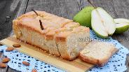 Фото рецепта Лимонный кекс с грушами