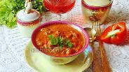 Фото рецепта Паприкаш из индейки с вином