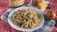 Фото рецепта Паста с консервированной горбушей
